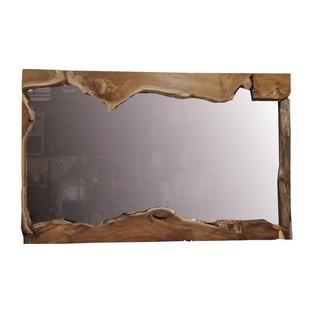 Espejo Rústico Rectangular Teca Reciclada 150