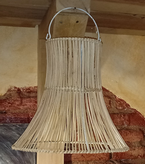 Lámpara de Techo de Mimbre Natural