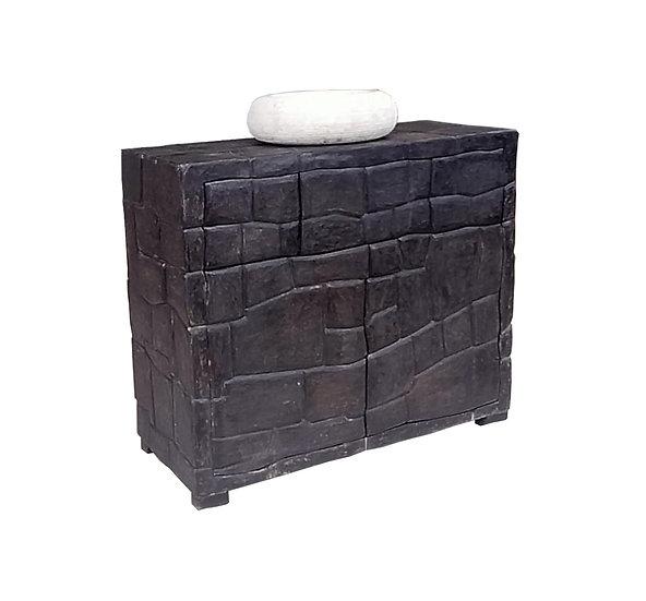 Mueble Baño Rústico Batu