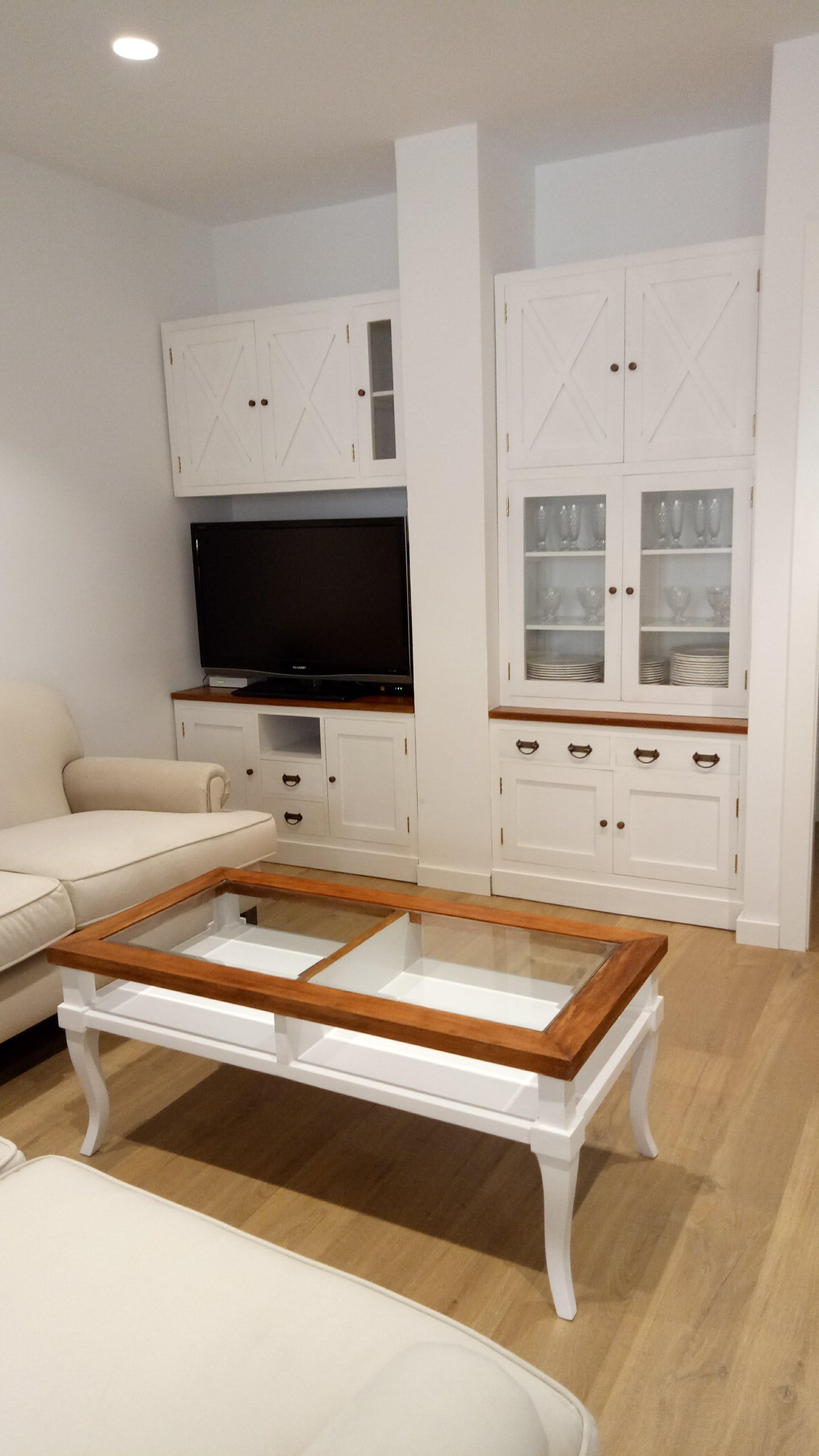 Conjunto Blanco Salón