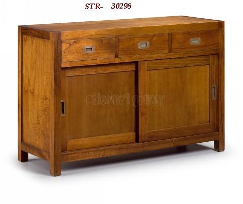 Mueble Aparador Colonial 120