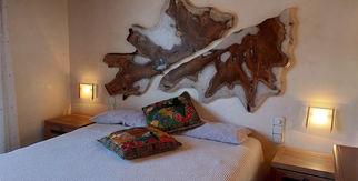 1912 Dormitorio Rústico Teca