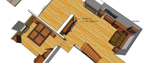 Diseño Habitacion Comedor Rústic