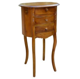 Mesita Aux Vintage Oval