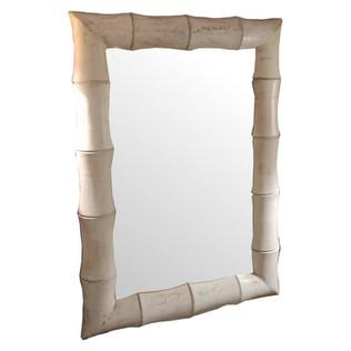 Espejo de Teca Bambo