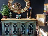 Mueble Vintage Pintado y Decapado