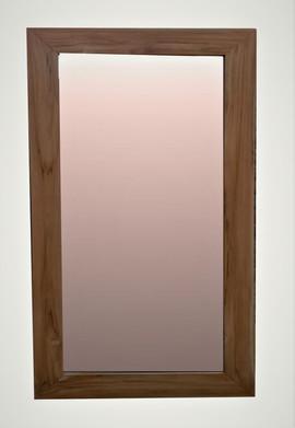 Espejo Rústico Teca Wax
