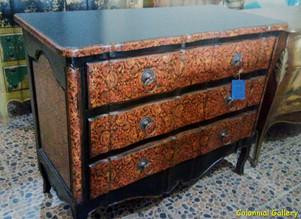 Mueble colonial vintage pintado comoda negra marron.jpg
