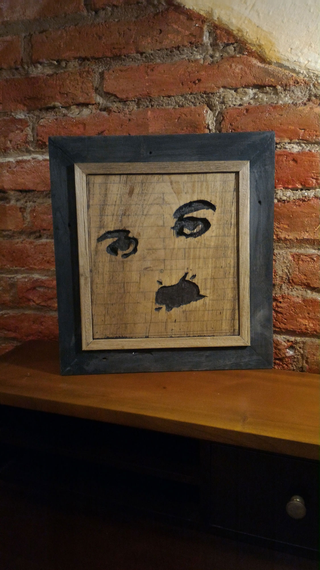 Cuadro Tabla Chaplin
