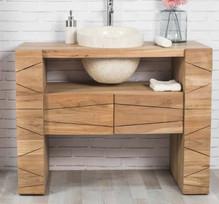 Mueble Baño Teca Indo