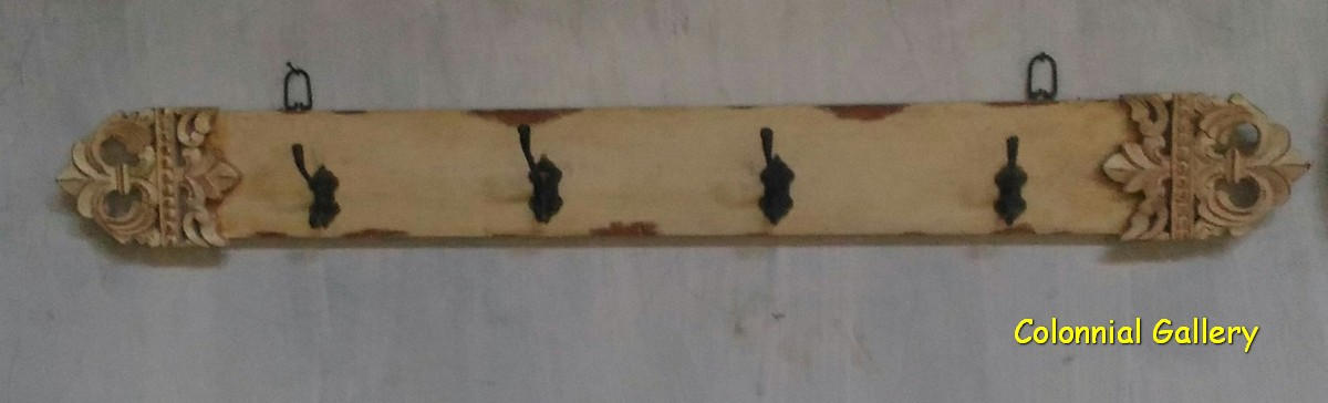 Perchero Madera Vintage decape
