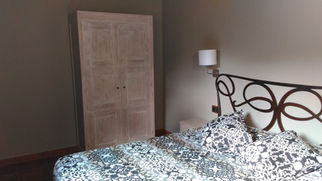 Dormitorio Forja Blanco Decapado