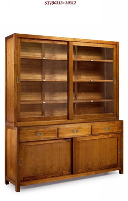 Mueble Vitrina Colonial 180