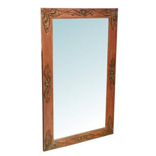 Espejo Colonial Teca Reciclada