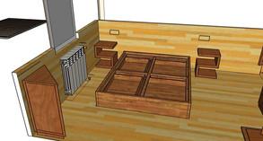 Diseño Habitación Rústic La Molina