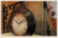 Reloj metalico de pared