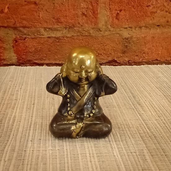 Monje Budista Oir de Bronce