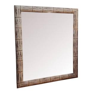 Espejo Rústico Bambu