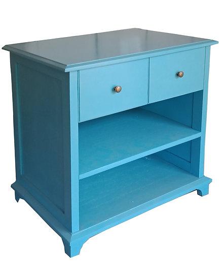 Mueble Auxiliar Provenzal Azul Turquesa