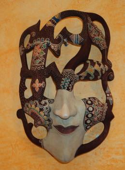 Máscara Hombre Javanesa
