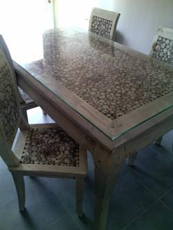 Mesa para el Comedor de Teca