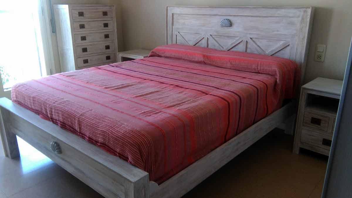 Conjunto Dormitorio Teca WW