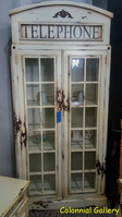 Mueble colonial  vintage pintado vintrina cabina telefonica.jpg