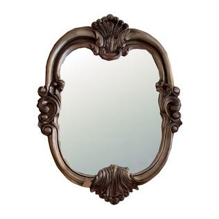 Espejo Vintage oval Plata