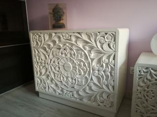 Comoda Blanca Balinesa
