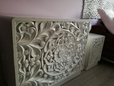 Talla Blanca Balinesa en Comoda