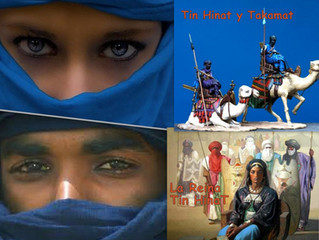 Tuaregs y albinos