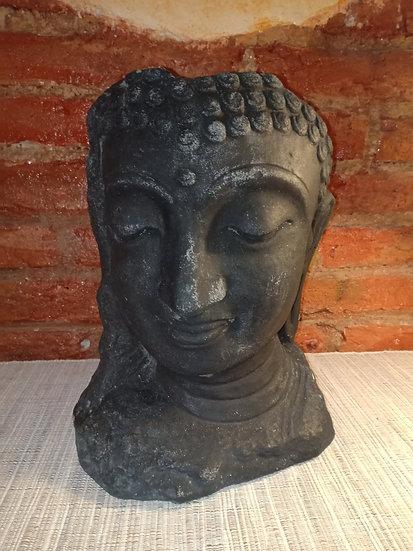 Mascara Buda Javanesa Piedra Volcánica