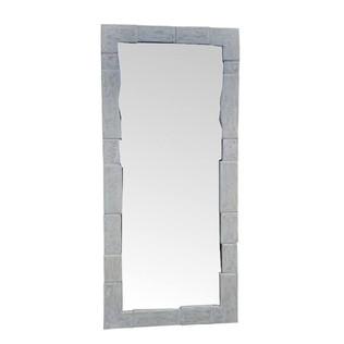 Espejo rustico Parsi Blanco