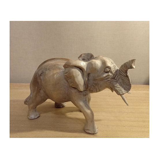 Talla Elefante de madera