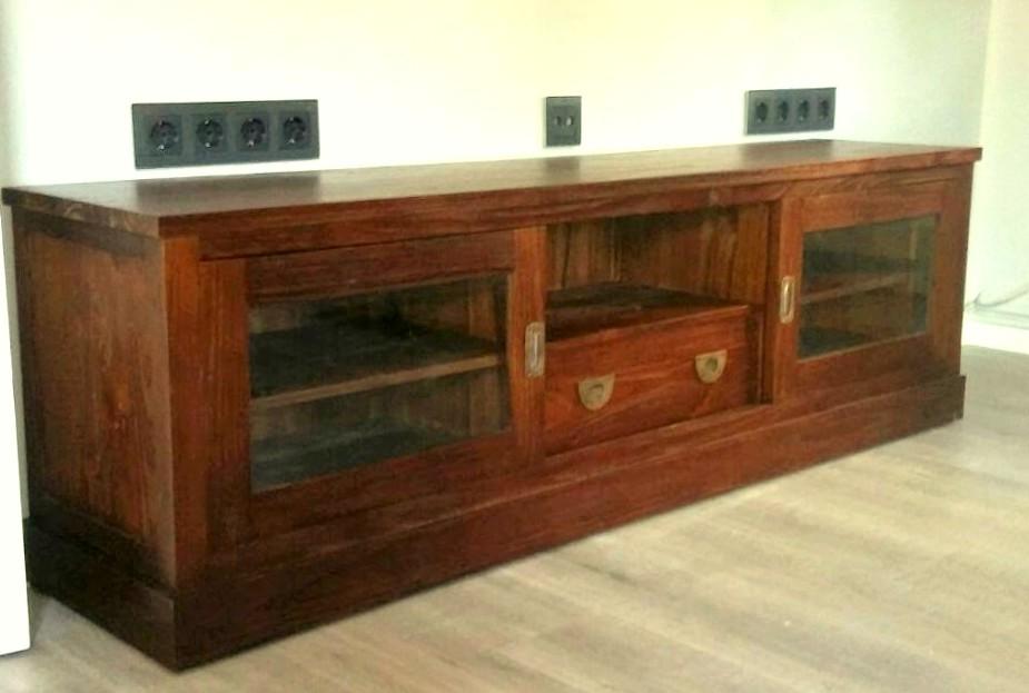 Mueble Televisor Rústico