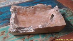 Bandeja Teca reciclada blanqueado
