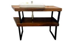 1394 Mueble Lavabo Rústico Industrial