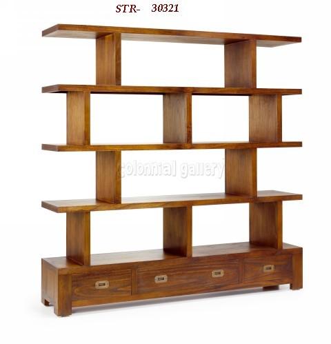 Mueble Estantería Colonial 160