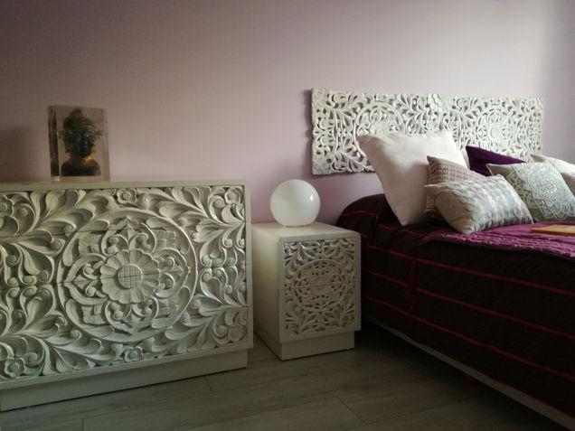 Dormitorio Blanco Balines
