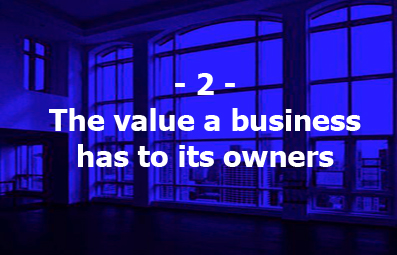 2. The value a business