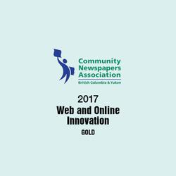 2017 Community Newspapers Award