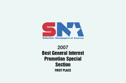 2007 Suburban Newspapers Award