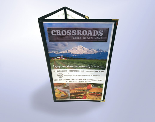 Crossroads Family Restaurant Menu