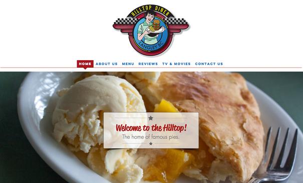 Hilltop Diner Website