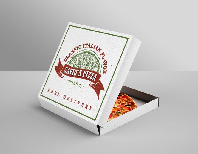 Savio's Pizza Box