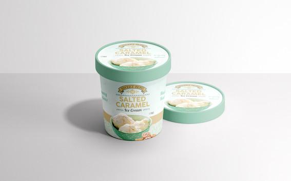Sweet Rose Salted Caramel Ice Cream