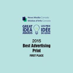 2015 Great Idea Award