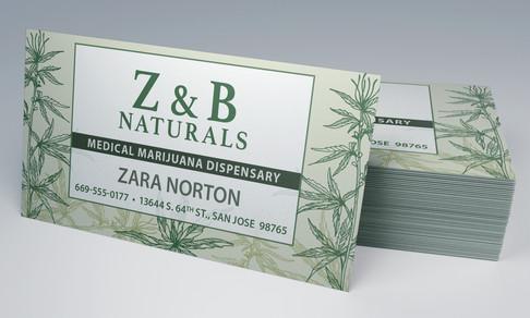 Business Card_Marijuana Dispencary