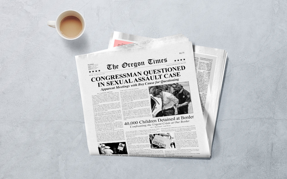 Oregon Times Newspaper
