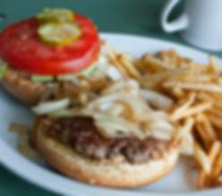 Hilltop Diner Burger and Fries